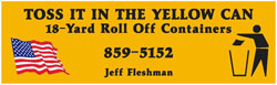 Fleshman Roll Offs